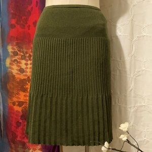Vintage Missoni Italy knit skirt